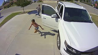 How a 10-Year-Old Scared Off Stranger in Her Driveway