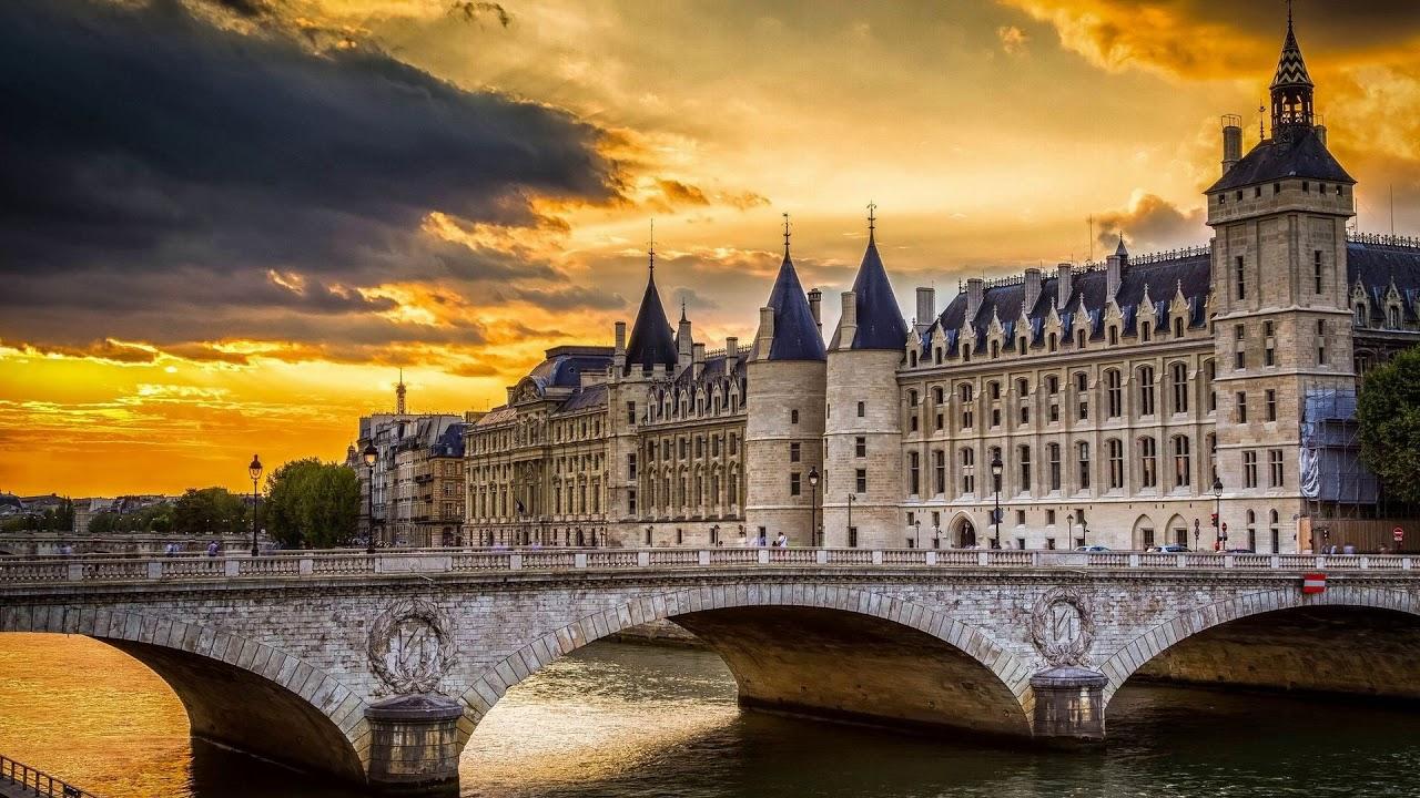 palace, paris, france, conciergerie