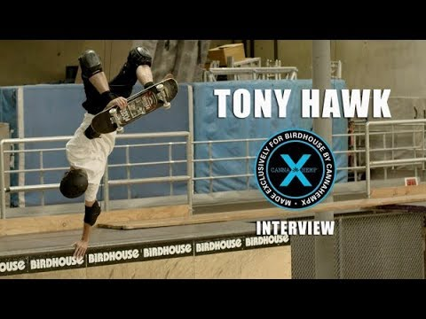 Tony Hawk Canna Hemp X Interview