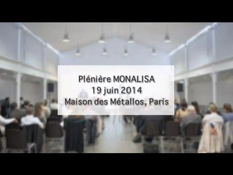 Plénière MONALISA du 19 juin 2014