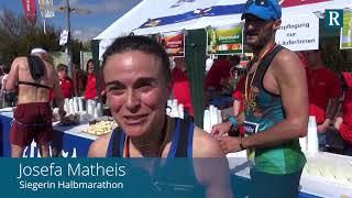 Marathon Deutsche Weinstraße: Beim Zieleinlauf In Bockenheim