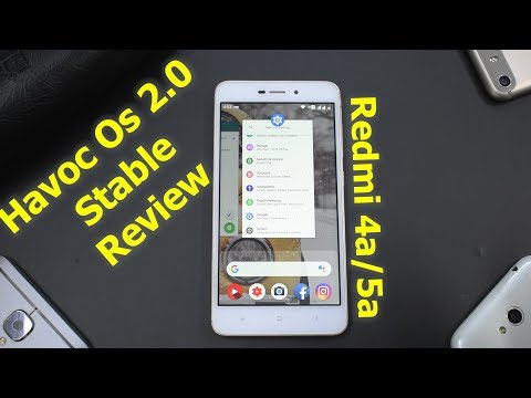 Best Custom Rom ? Havoc OS 2 0 Stable | Android 9 Pie | Redmi 4A/5A