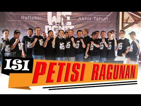 Petisi Ragunan Minta Jokowi Berhentikan Mentri Pertanian
