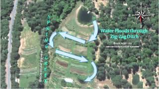 Пермакультурные водные системы с ключевой линией