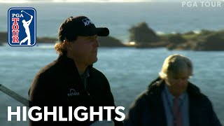 Phil Mickelson's Winning Highlights From AT&T Pebble Beach 2019