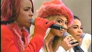 Destiny's Child - Little Drummer Boy Live @ Today Show (11.26.2001)