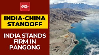 India China LAC Standoff: India Ramps Up Border Infrastructure Near Pangong Lake  IMAGES, GIF, ANIMATED GIF, WALLPAPER, STICKER FOR WHATSAPP & FACEBOOK