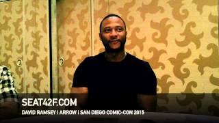 "Сериал ""Стрела"", David Ramsey ARROW Comic Con 2015 Interview"