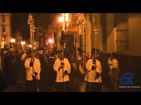 El Señor de la Misericordia recorre las calles de la Pastora en Vía Crucis