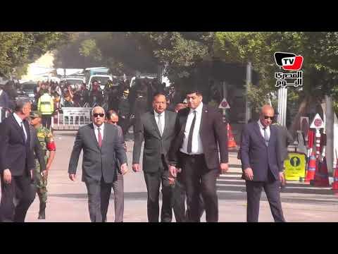 مدير أمن القاهرة يتفقد العملية الانتخابية بمصر الجديدة