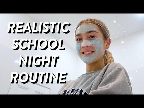 REALISTIC SCHOOL NIGHT ROUTINE! back to school night routine 2019