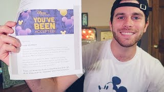 ACCEPTED INTO THE DISNEY COLLEGE PROGRAM 2019