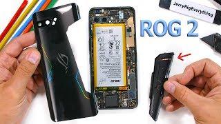 Asus ROG Phone II Teardown! - Is the rear vent Fake?