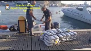 Brindisi, maxi sequestro di marijuana al porto: 262 chili per un valore di 3 milioni di euro - VIDEO