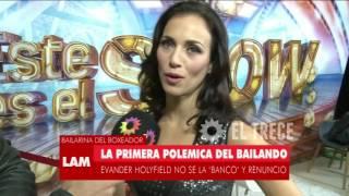 La Reacción De Marcelo Polino Por La Renuncia De Evander Holyfield