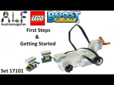 Vidéo LEGO Boost 17101 : Mes premières constructions LEGO Boost