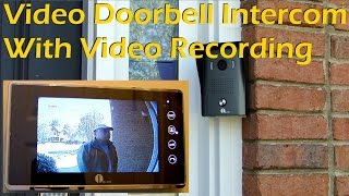 Video Doorbell Intercom with Video Recording 1byOne