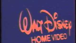 Opening To Lady And The Tramp 1987 VHS (300th Video)