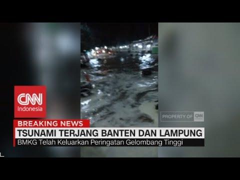 BMKG: Diduga Tsunami di Banten Akibat Letusan Anak Krakatau | Tsunami Terjang Banten & Lampung