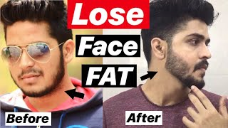How To Lose Face Fat Naturally | Hindi | Remove Chubby cheeks And Double chin Fast