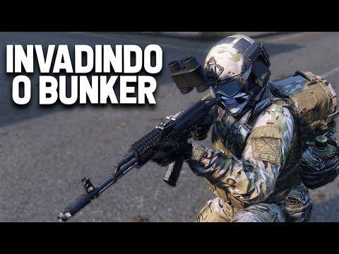 INVADINDO O BUNKER - DayZ