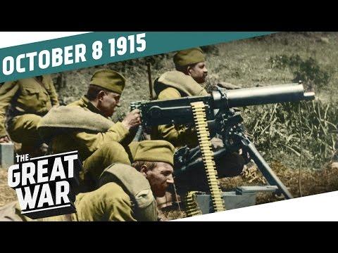 Srbové na ústupu a vylodění v Řecku - Velká válka