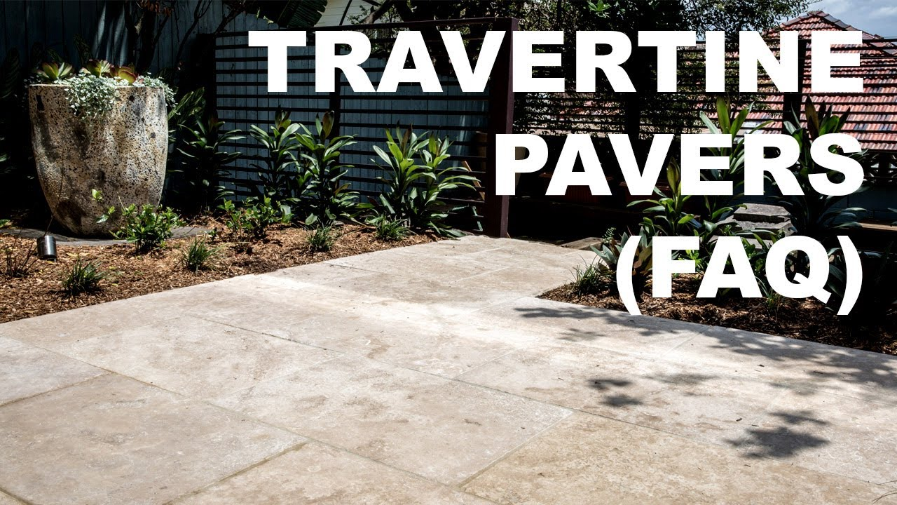 Travertine Pavers FAQ