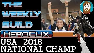 2018 Heroclix U.S. National Champ   TWB #56   Starfox!