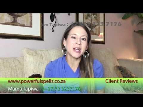 Marriage Spells That really work  Mama Tapiwa Testimonial