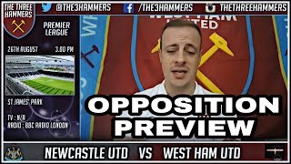 Opposition preview   Newcastle v West Ham