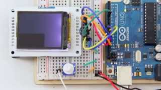 Arduino Mega 2560 and SSD1289 touch screen demo