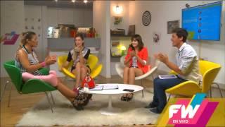 """Сериал Виолетта, Валерия(Лара) и Клара(Анжи) поют песню """"Ser mejor"""""""