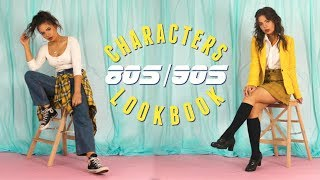 Style With Me! 80s 90s Iconic Characters!