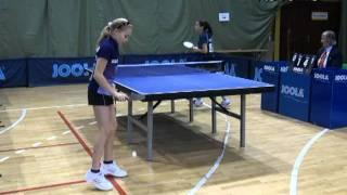 Турнир Венгрия 2012 Настольный теннис