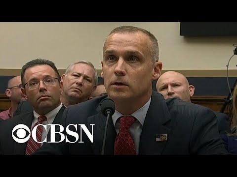 Corey Lewandowski testifies at impeachment hearing as he considers senate run