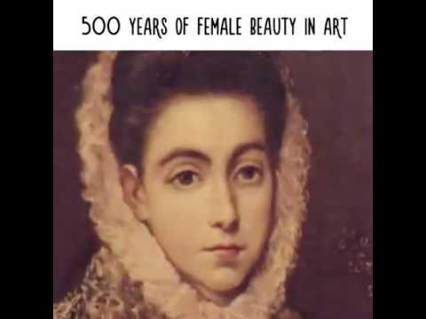 500 лет женской красоты в искусстве