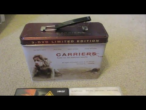 Carriers Limited Edition Survival Kit Box Dvd Unboxing Review Horror Box Set