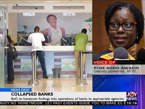 BoG Creates Consolidated Bank - News Desk on JoyNews (2-8-18)