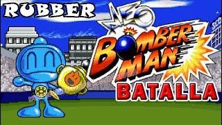 NEO BOMBERMAN MODO BATALLA - RUBBER.