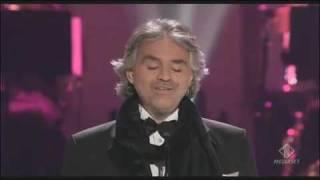 Andrea Bocelli - Christmas - Adeste Fideles - Kodak Theatre Los Angeles 2009.
