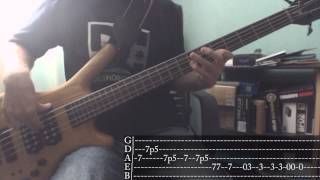Incubus - The Warmth [Bass Cover + Tab]