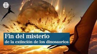 Los dinosaurios se extinguieron por un meteorito, no por una erupción volcánica