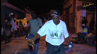 Wetting of the ring at the opening of Carriacou Regatta 2017