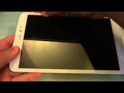 LG G Pad 8.3: Video unboxing