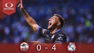 Resumen Lobos BUAP 0 - 4 Puebla | Clausura 2019 - Jornada 12 | Presentado Por Corona