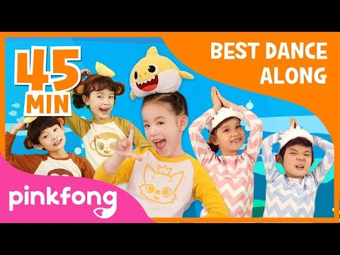 Baby Shark Dance And More Dance Dance Pinkfong Compilation Pinkfong Songs For Children