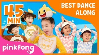 Baby Shark Dance and more | Best Dance Along | +Compilation | Pinkfong Songs for Children