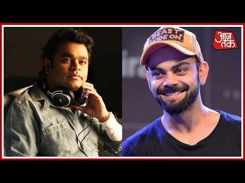 Shatak Aaj Tak: Virat Kohli To Rap For AR Rahman And More