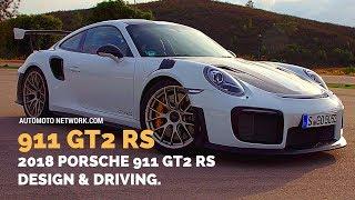 2018 Porsche 911 GT2 RS (White) | Design & Track Driving Impressions.