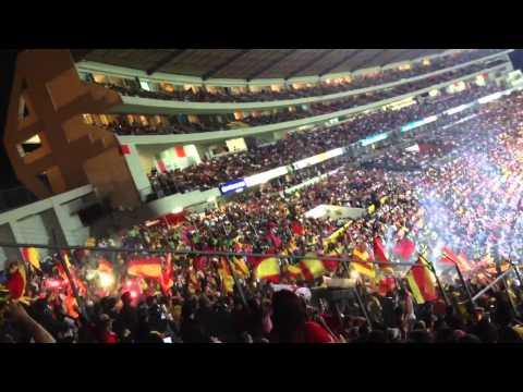 """""""monarcas vs América 2013 lo mejor del partido el ambiente c"""" Barra: Locura 81 • Club: Monarcas Morelia"""
